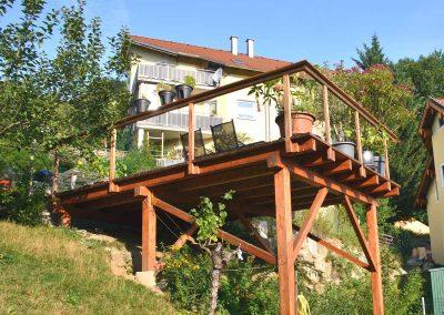 Holzterrasse - Malecek Gartengestaltung