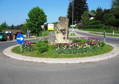 Kreisverkehr-Gestaltung - Malecek Gartengestaltung