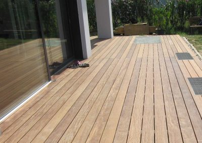 Holzterrasse - Gartengestaltung Malecek