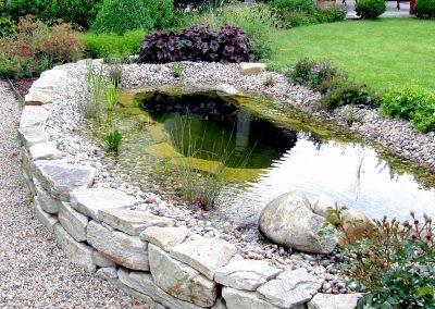 Zierteich - Gartengestaltung Malecek