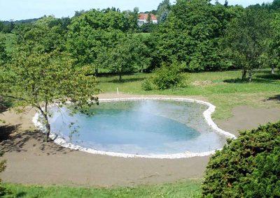 Neuanlage Schwimmteich - Gartengestaltung Malecek