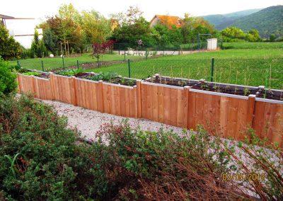 Hochbeete - Gartengestaltung Malecek